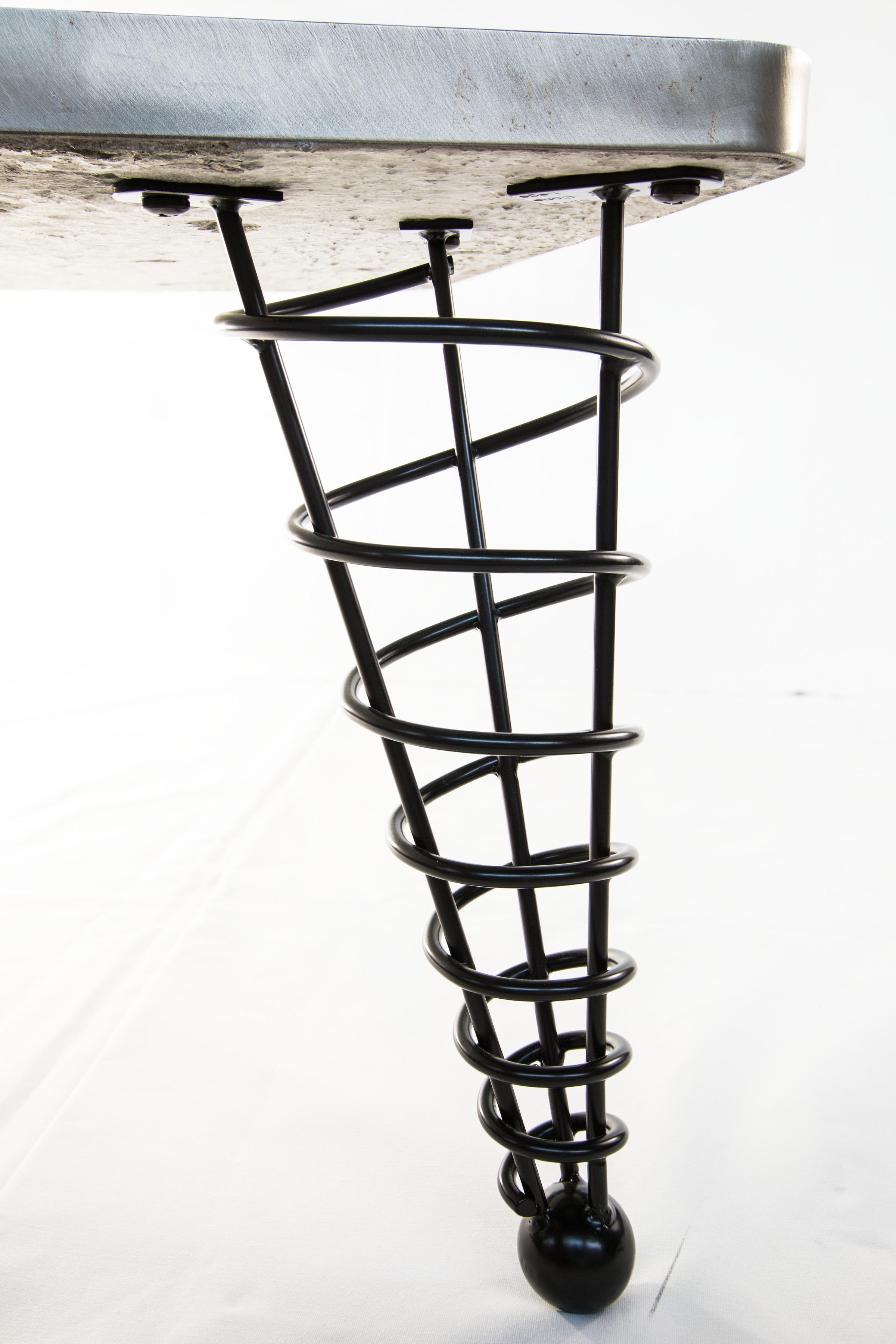 Modern table legs tyson benard design art fabrication midcentury modern table legs 14 inch height angled suitable for coffee table geotapseo Choice Image