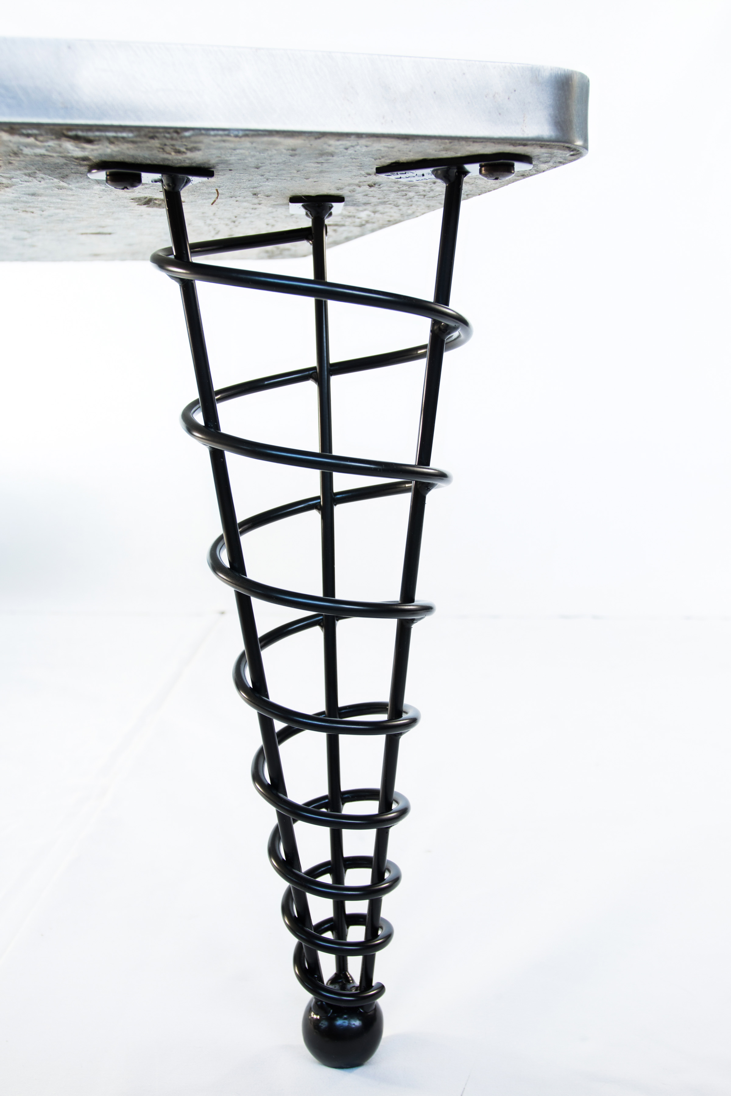 modern table legs 20 inch height straight suitable for coffee table stronger than