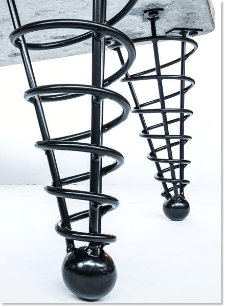 14 Quot Angled Coffee Height Table Legs Product Detail