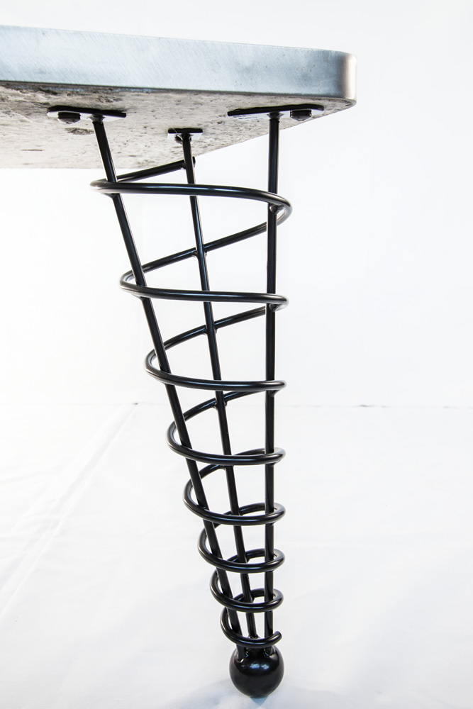 16 Quot Angled Coffee Height Table Legs Product Detail